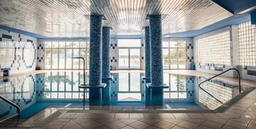 Unutarnji bazen hotela Mediteran u Crikvenici.