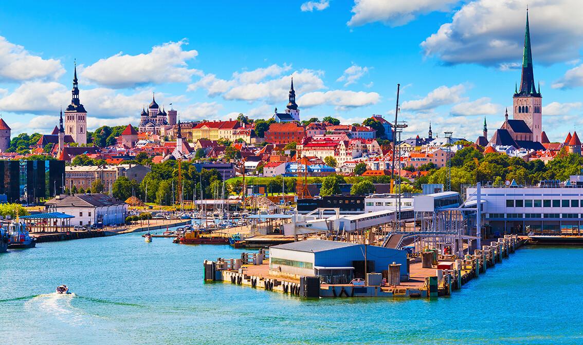 Estonija, Tallinn grad u Finskom zaljevu