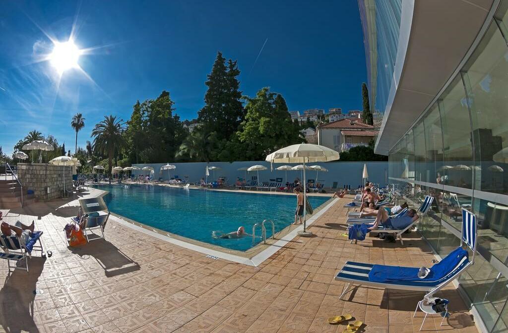 Dubrovnik, Grand Hotel Park, bazen