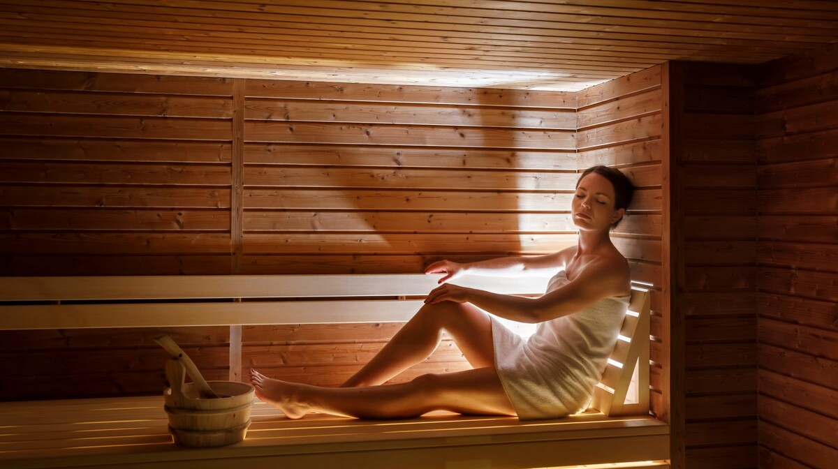 Finska sauna u hotelu Admiral, Opatija
