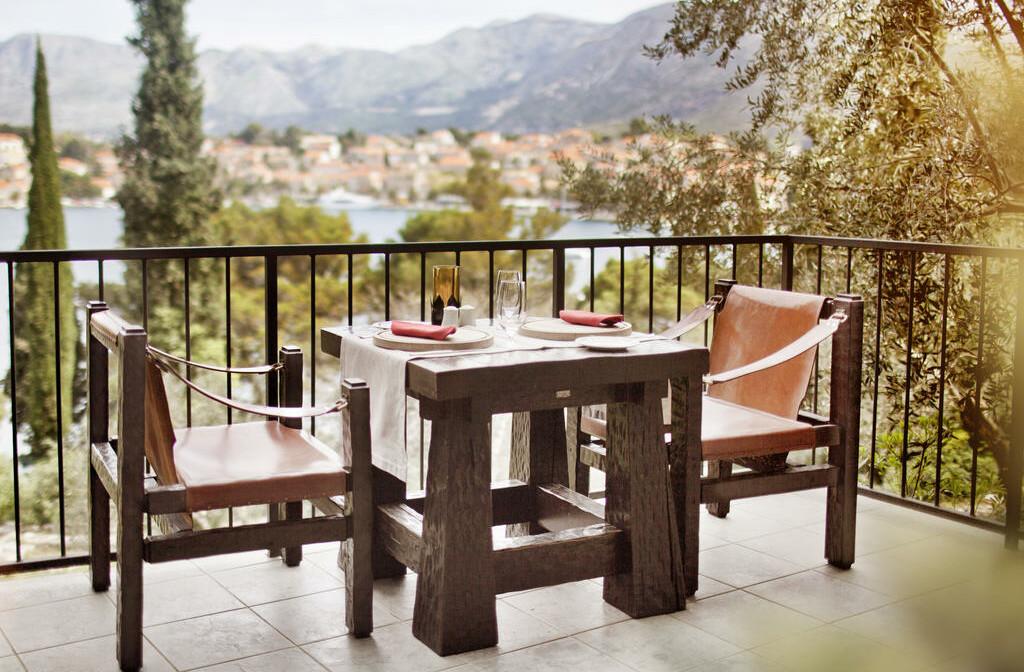 Cavtat, Hotel Croatia, ručak za dvoje