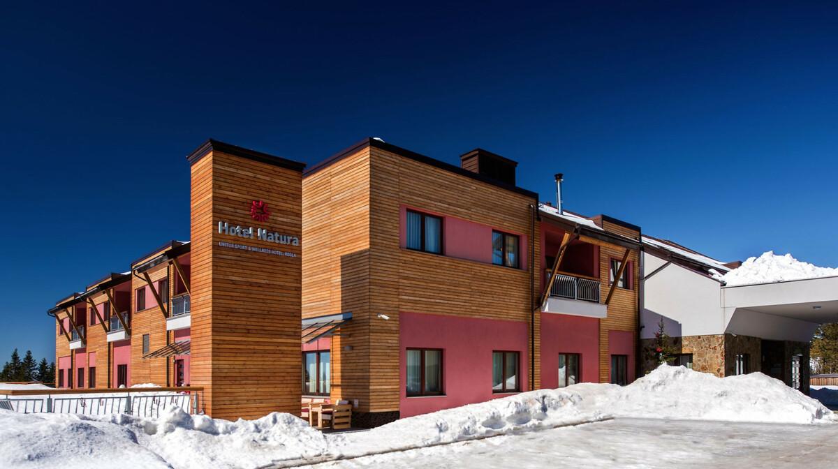 skijanje slovenija, wellness, natura hotel rogla