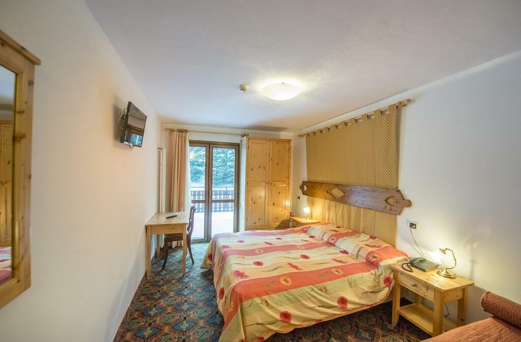 Skijanje u Italiji, Alba di Canazei, Hotel Villa Emma, primjer sobe