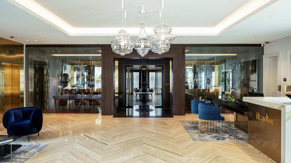 Hotel Ikador, Lobby
