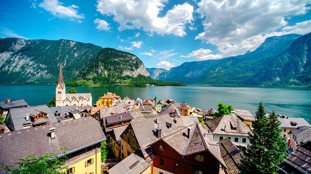Putovanje austrijska jezera putovanje u salzburg, hallstatt