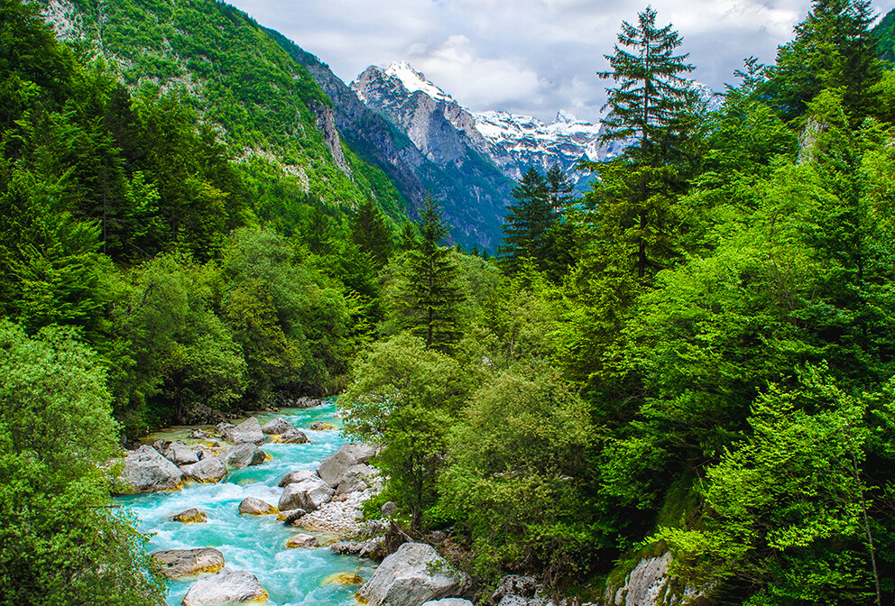 Tirkizno plava rijeka Soča, putovanje Slovenija, vikend putovanja, garantirani polasci