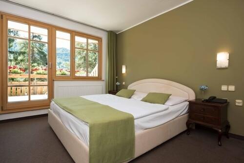 Skijanje i wellness u Sloveniji, Bled, Hotel Ribno, spavaća soba