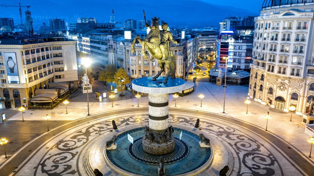 Skopje, glavni grad Makedonije