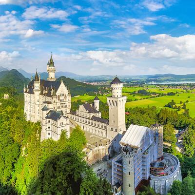 dvorac Neuschwanstein, Mondo travel, europska putovanja, garantirani polazak