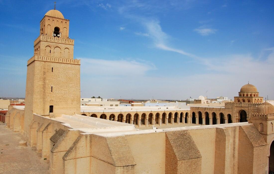 Velika džamija u Kairouanu, Tunis, ljetovanje Mediteran, charter let Tunis, garantirani polasci