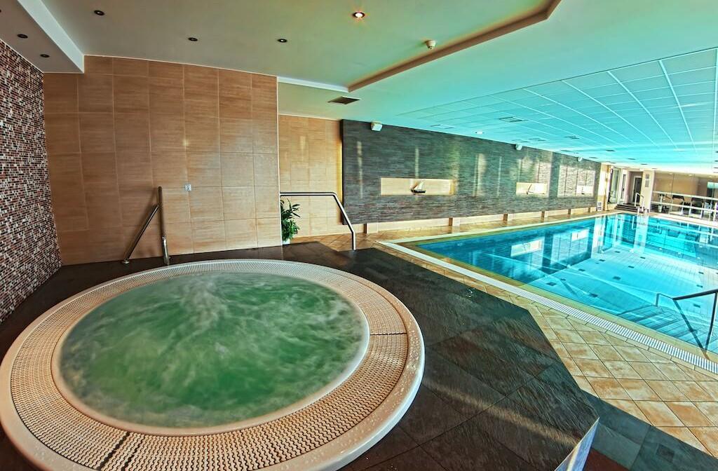 Dubrovnik, Grand Hotel Park, unutarnji bazen i jacuzzi