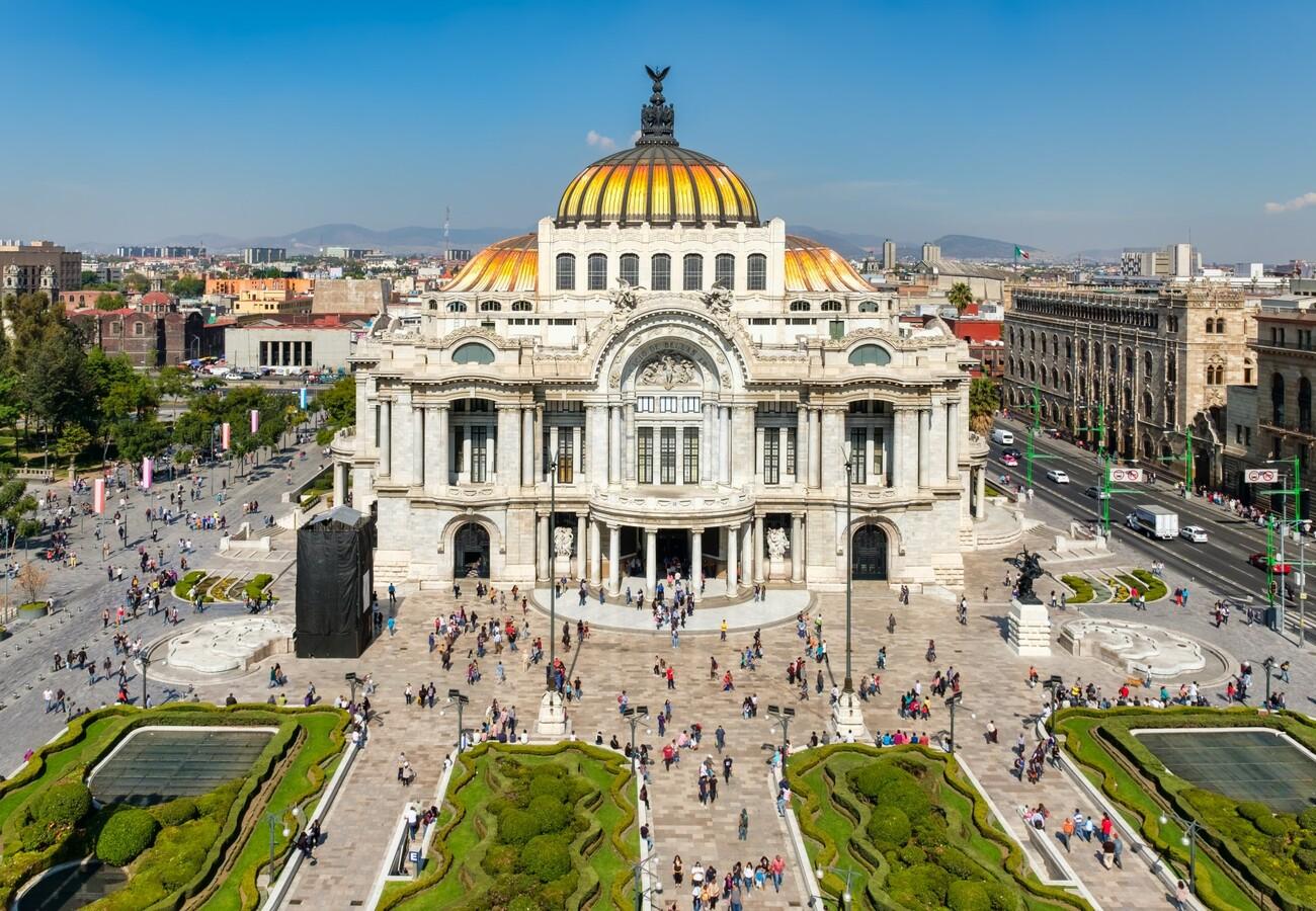 Palacio Bellas Artes, Mondo travel, daleka putovanja, garantirani polazak