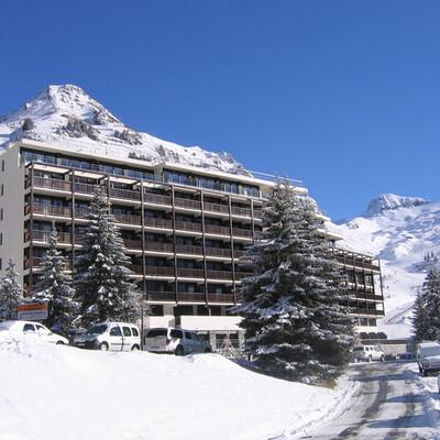 Skijanje u Francuskoj, Flaine, Apartmani Les Terrasses De Veret, prilaz