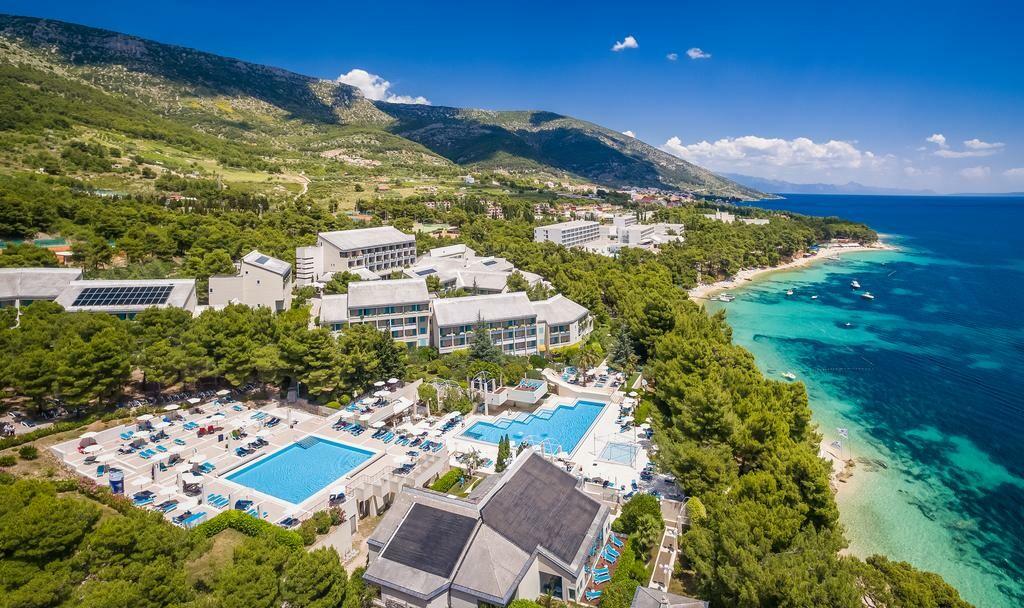 Otok Brač, Bol, Bretanide Sport & Wellness Resort, panoramaa