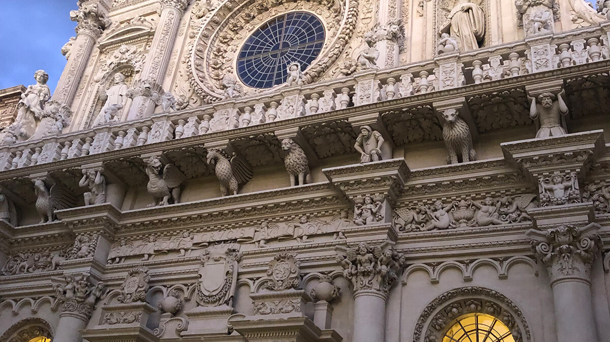 Bazilika Santa Croce, Lecce, putovanje Italija, Mondo travel