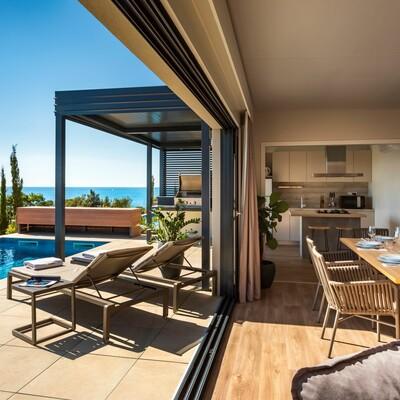 Funtana, Istra Premium Camping Resort, Camping villa with pool