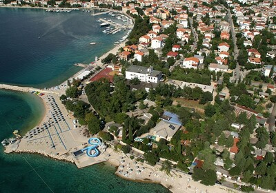 Selce, Hotel i Paviljoni Slaven, panorama