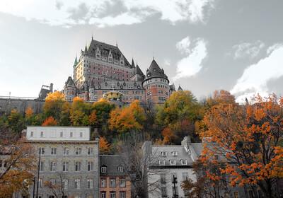 Kanada, Quebec, Le Château Frontenac, grupni polasci, vođene ture, garantirani polasci