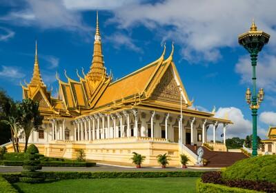 KAmbodža, Phnom Penh, Kraljevska palača