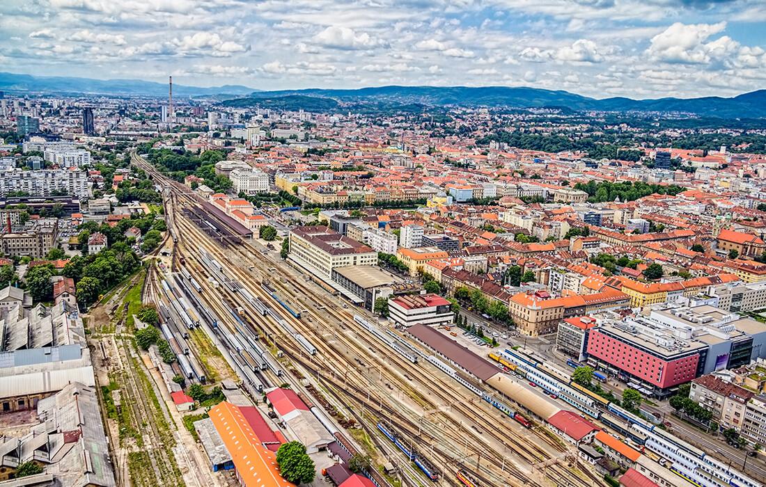 Zagreb željeznička pruga