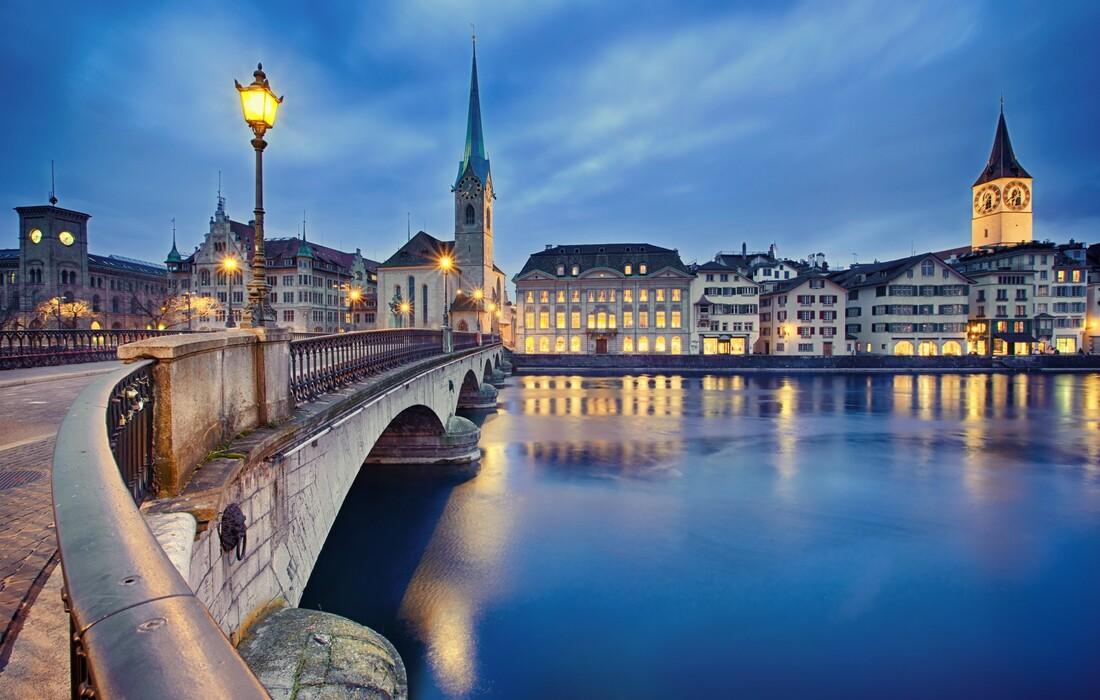 Švicarska - Zurich