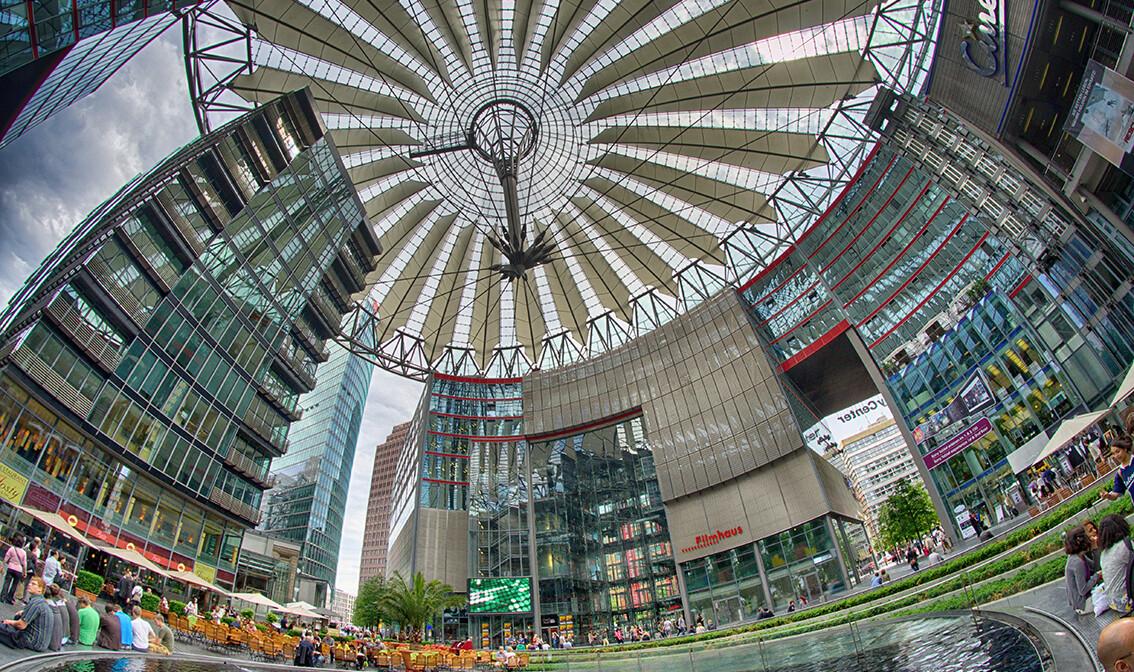 Berlin, The Sony Center, garantirani polasci, vođene ture, putovanja sa pratiteljem