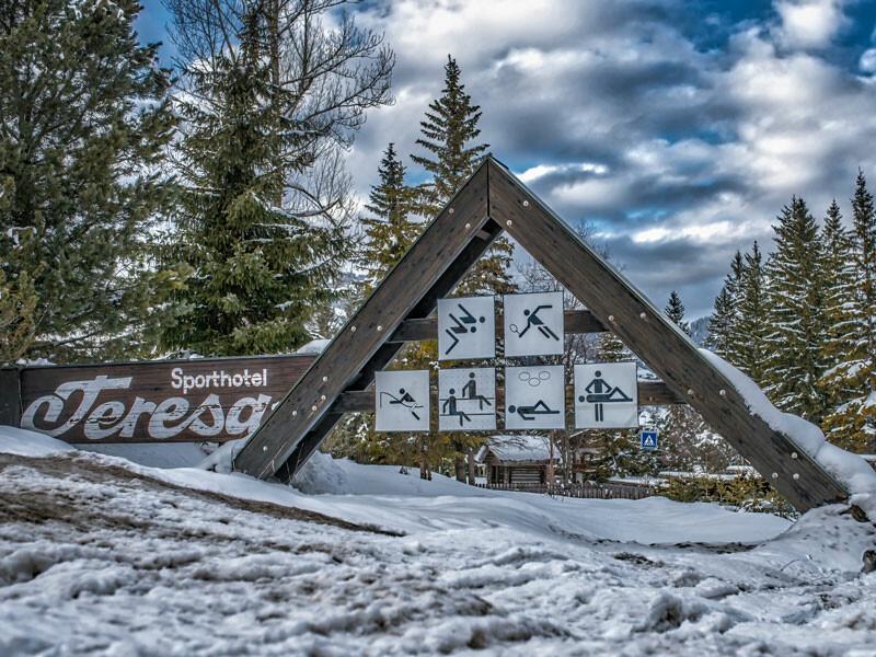 Skijanje u Italiji, Alta Badia, Badia, Sporthotel Teresa, pogled izvana