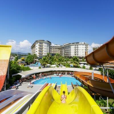 Antalya ljetovanje, Hotel Mukarnas spa & resort, tobogan