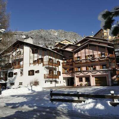 Skijanje u Italiji, skijalište Andalo / Paganella, Molveno, Apartmani Betulla, pogled izvana