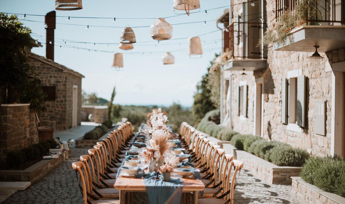 San Canzian večera, odmor u Istri, mondo premium, vikend putovanja, San Canzzian Village