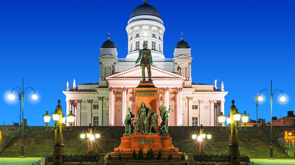 Trg Senata i katedrala, putovanje Helsinki, Skandinavija,  garantirani polazak