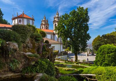 Braga i  Bom Jesus crkva, putovanje u Portugal