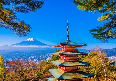 Chureto crvena pagoda i Fuji, Japan, daleka putovanja, garantirani polasci, vođene ture
