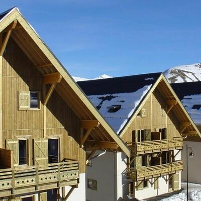 Residence Les Fermes de St Sorlin, Les Sybelles, Francuska, skijanje, pogled na apartmane izvana
