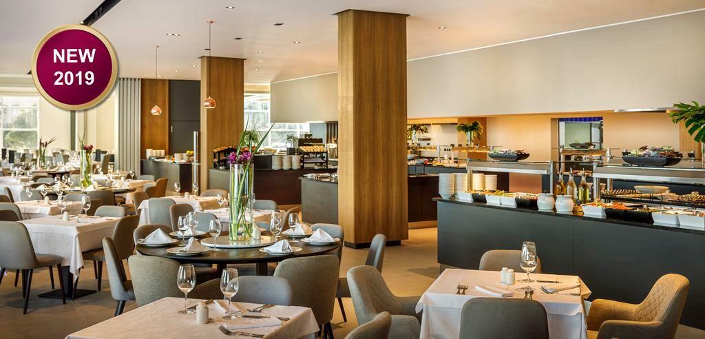 Restoran u hotelu Ambasador u Opatiji.