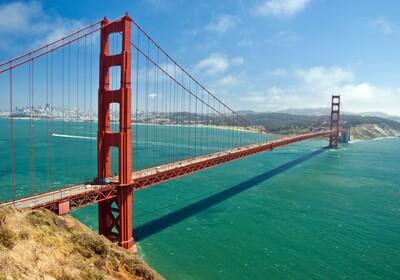 San Francisco - The Golden Bridge