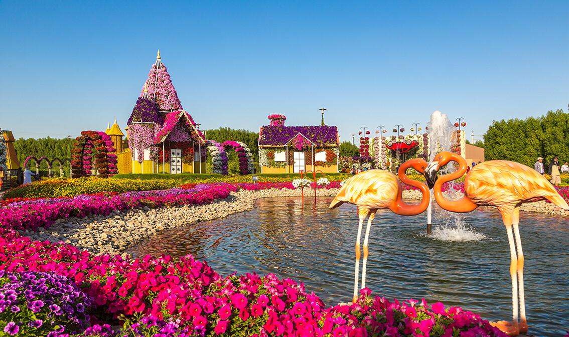 Dubai čudesni vrt, putovanje u Dubai, Emirati, grupni polasci, daleka putovanja