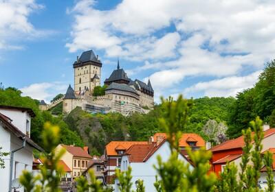 Češka - Royal castle Karlstejn