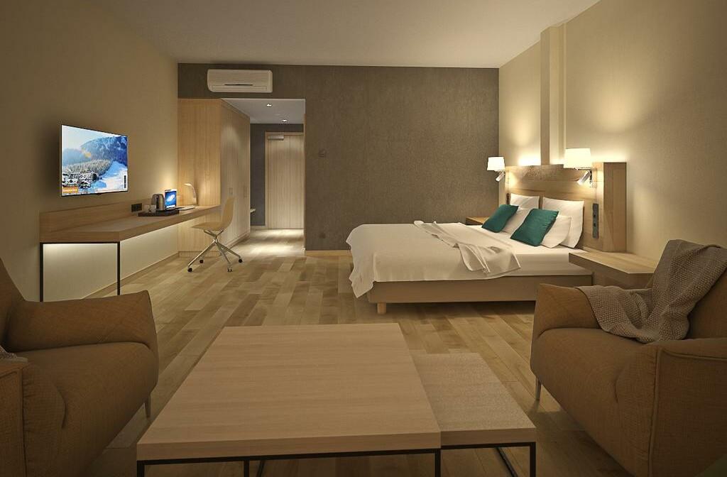 Slovenija, Best Western hotel Kranjska Gora, skijanje, soba sa bračnim krevetom