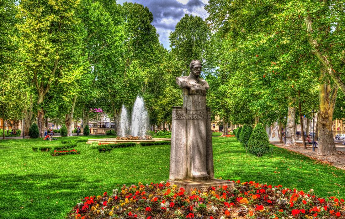 Zagreb, park Zrinjevac