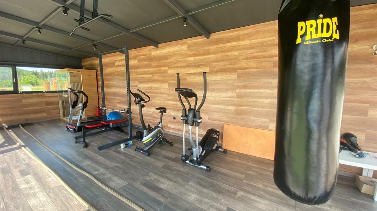 Plitvice, Hotel 16lakes, dvorana za vježbanje