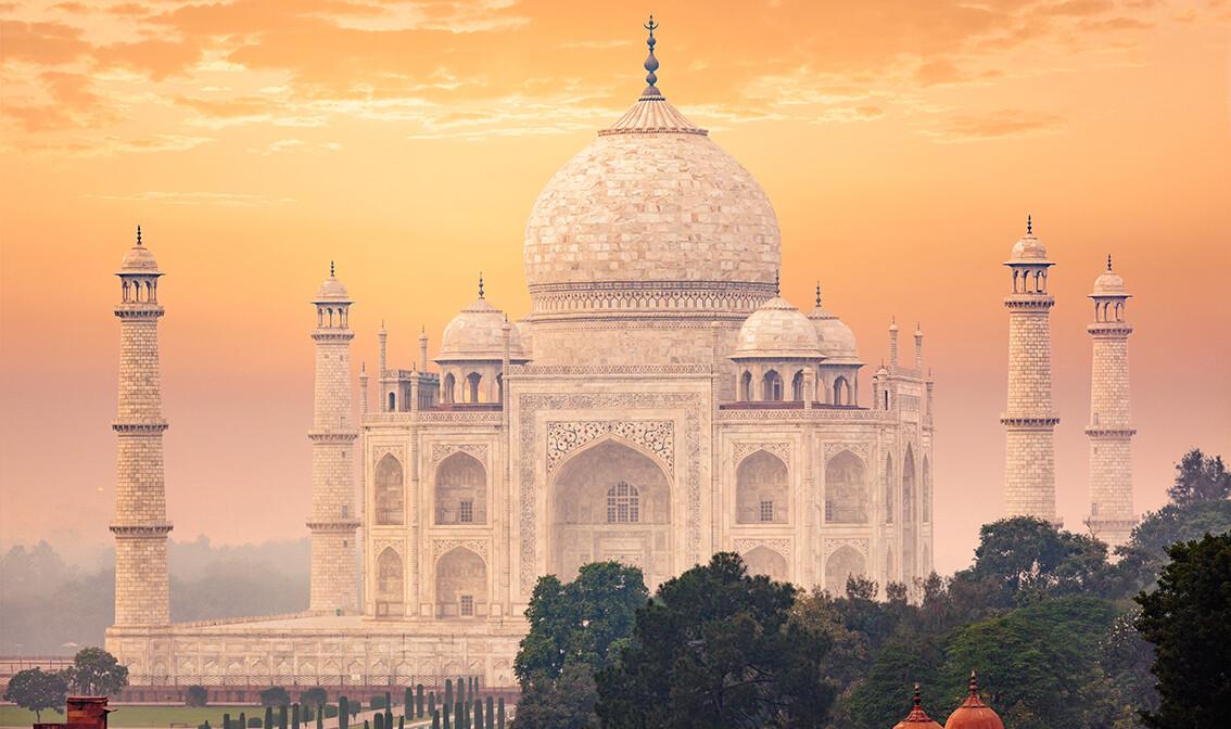 Taj Mahal, putovanja zrakoplovom, Mondo travel, daleka putovanja, garantirani polazak