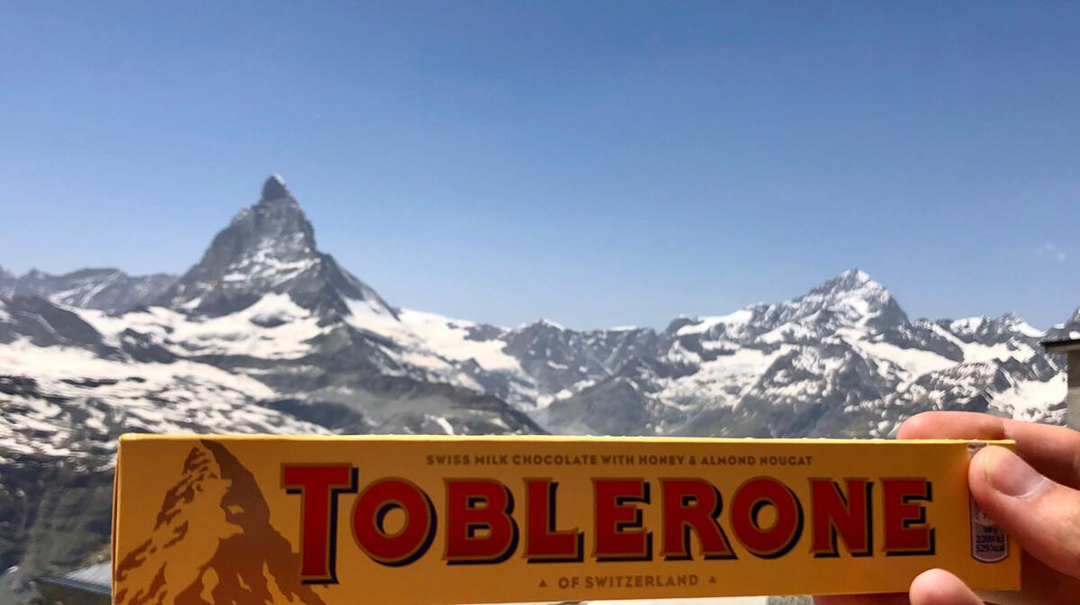 Švicarske čokolade Toblerone, Matterhorn, švicarske alpe, putovanje autobusom