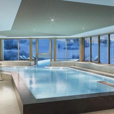 Francuska, skijanje, Les Sybelles, Residence L'Etoile des Sybelles, unutarnji bazen
