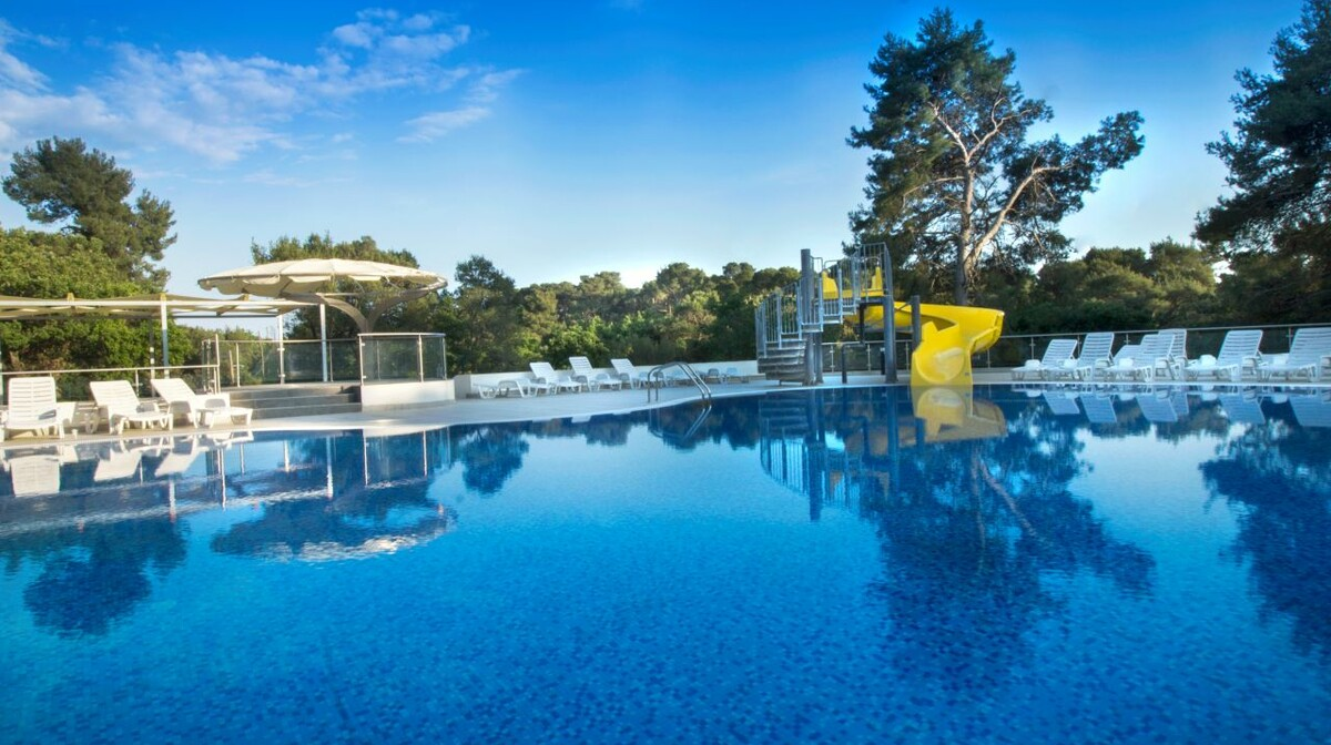 Biograd, Hotel Adria, vanjski bazen2