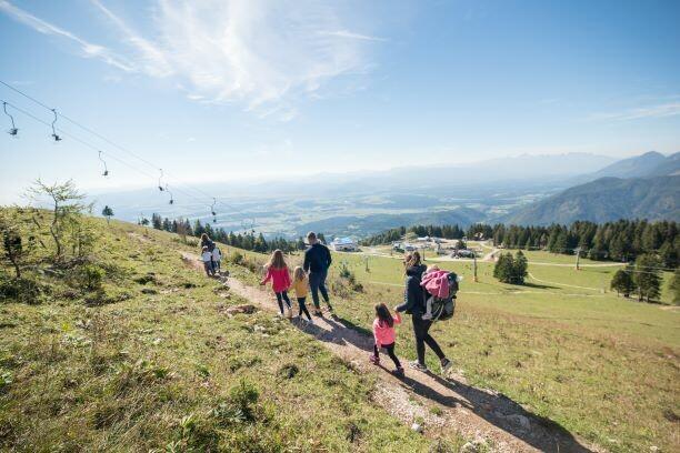Slovenija, Planina Krvavec, obiteljski planinarski izlet u prirodu