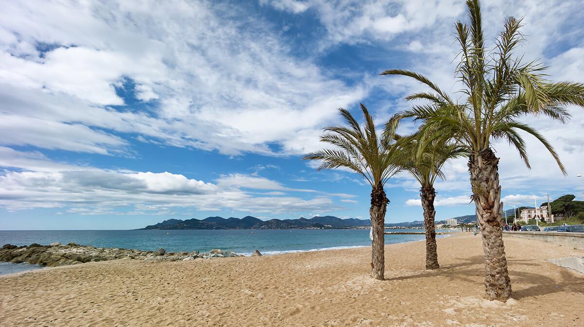 Cannes plaža, putovanje Azurna obala, Mondo travel