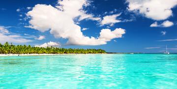 Tropski otok Saona, odmor Dominikanska republika, karibi, odmor iz snova, daleka putovanja