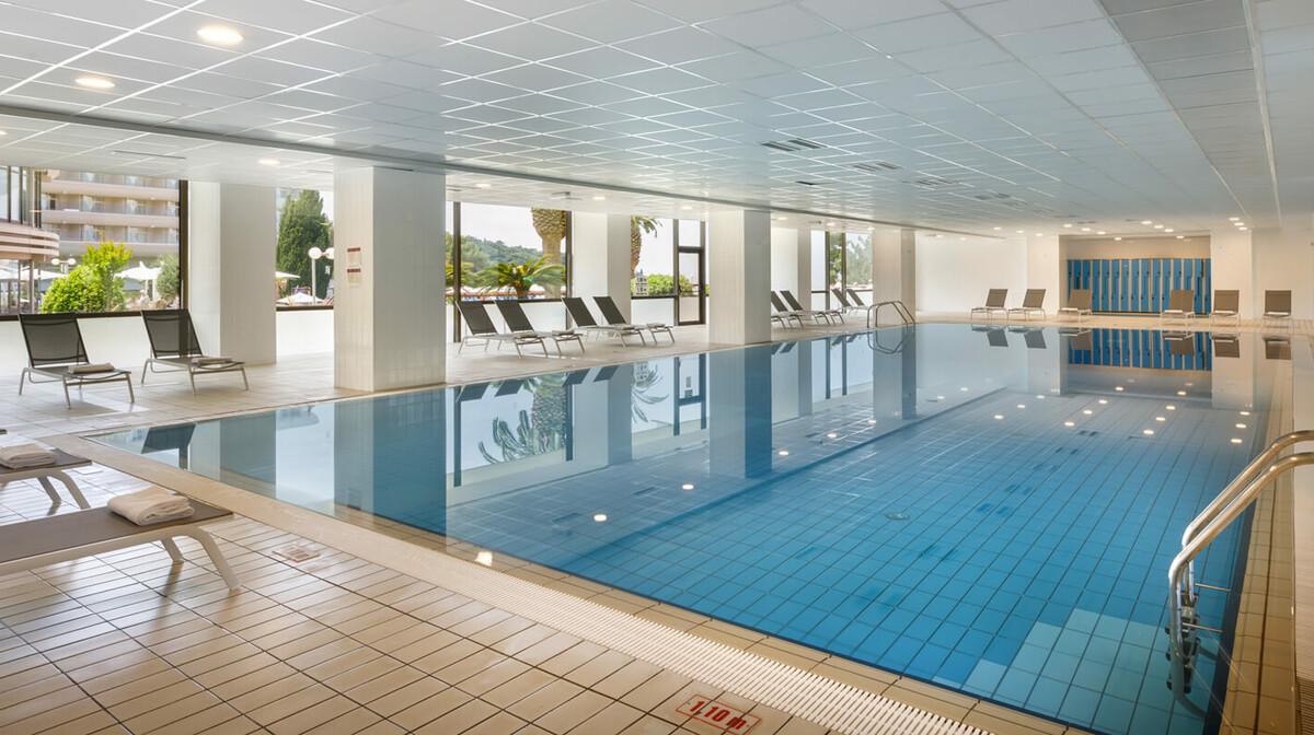 Dubrovnik, Cavtat, Remisens hotel Albatros, unutarnji bazen