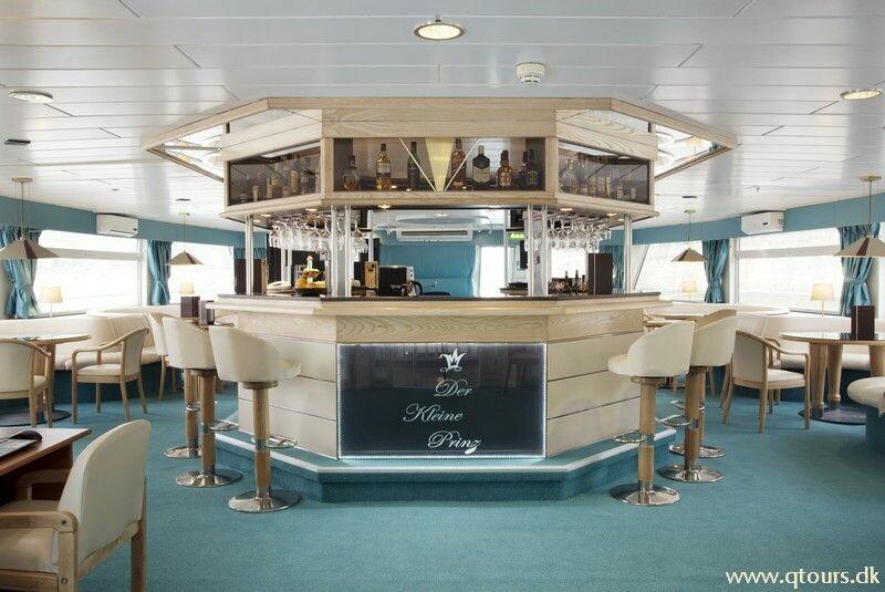 Brod MS Der Kleine Prinz, bar na brodu